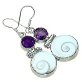 Kenna Sterling Silver Gemstone  Earrings