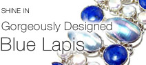 925 sterling silver lapis bracelet