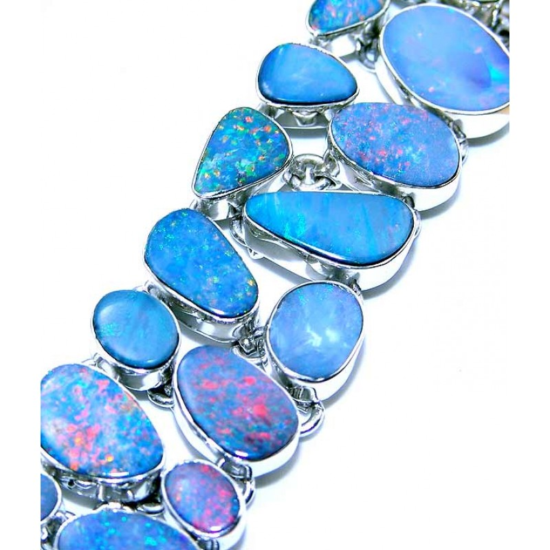 more opal bracelet br nahla jewelry silver views sterling stone