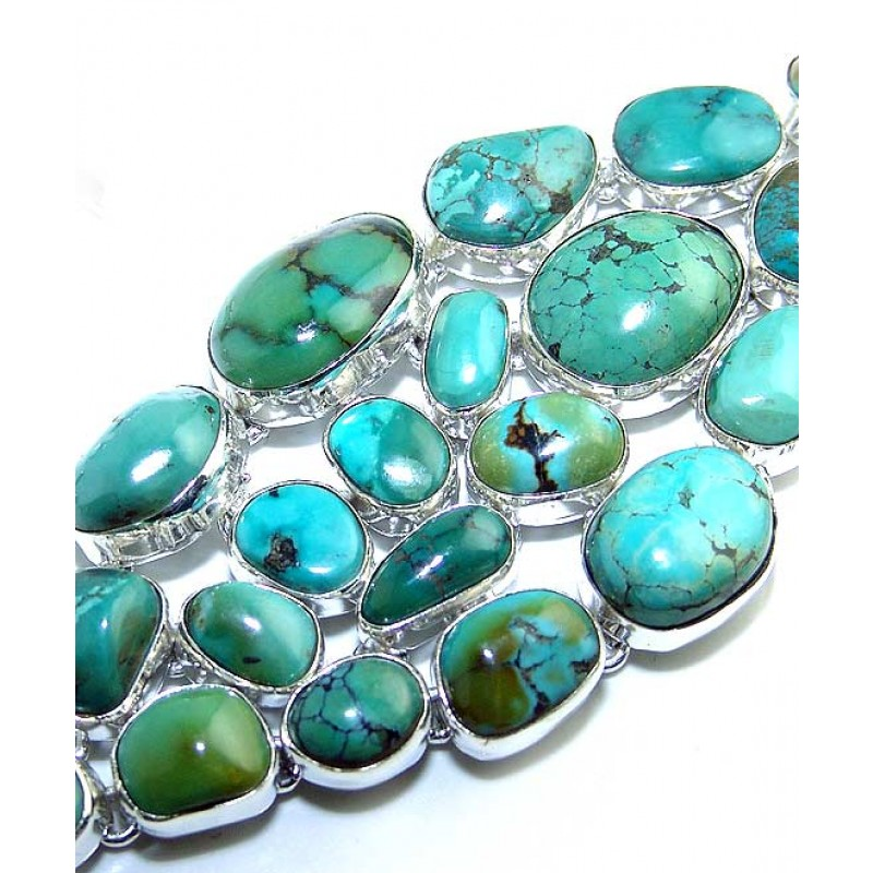 Makenna Sterling Silver Turquoise Bracelet Bracelet With