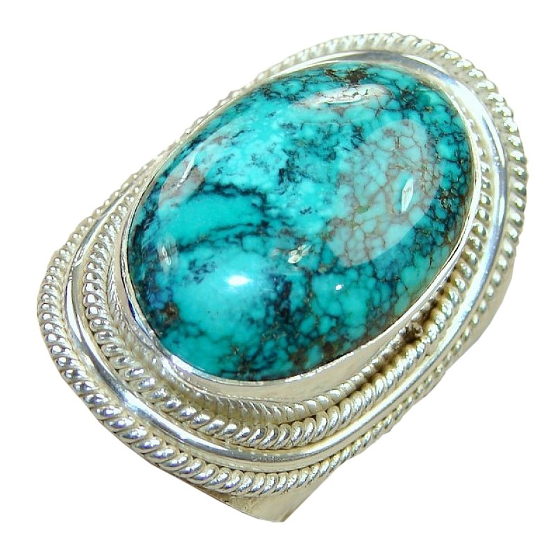 product midi lucky antique women set moments ring products finger rings turquoise stone image boho for