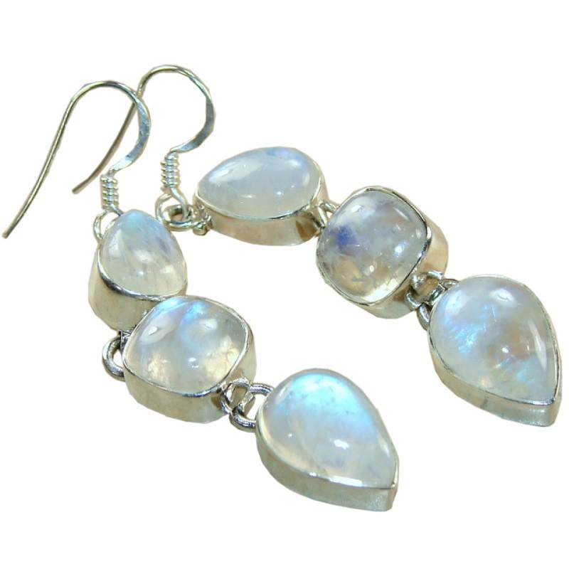 Madelyn Sterling Silver Moonstone Earrings