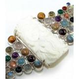 Cali Sterling Silver Gemstone  Bracelet