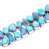 Opal Silver Bracelet