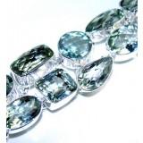 Marissa Sterling Silver Amethyst  Bracelet