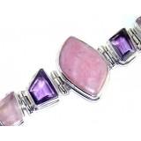 Fiona Sterling Silver Quartz  Bracelet