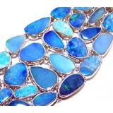 Jillian Sterling Silver Opal  Bracelet