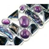 Sabrina Sterling Silver Quartz  Bracelet