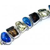 Alexis Sterling Silver Quartz  Bracelet