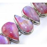 Karen Sterling Silver Moonstone  Bracelet