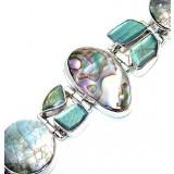 Joanna Sterling Silver Gemstone  Bracelet