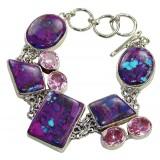 Adalyn Sterling Silver Turquoise  Bracelet