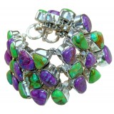 Ximena Sterling Silver Turquoise  Bracelet
