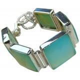 Phoebe Sterling Silver Onyx  Bracelet