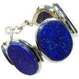 Nyla Sterling Silver Lapis  Bracelet