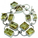 Bentley Sterling Silver Quartz  Bracelet
