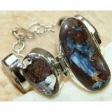 Chana Sterling Silver Opal  Bracelet