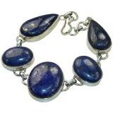 Heaven Sterling Silver Lapis  Bracelet