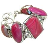 Onyx Silver Bracelet