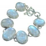 Evangeline Sterling Silver Moonstone  Bracelet