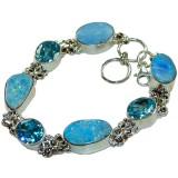Ashlynn Sterling Silver Topaz  Bracelet