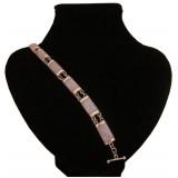 Hacha Lavender Jade Bracelet