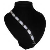 Pacal Lavender Jade Bracelet