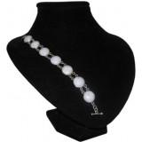 Pelotas Lavender Jade Bracelet