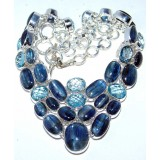 Topaz Silver Necklace
