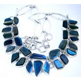 Josephine Sterling Silver Labradorite  Necklace