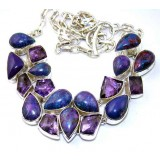 Aliyah Sterling Silver Amethyst  Necklace
