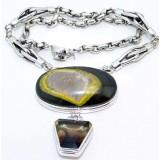 Quartz Silver Necklace