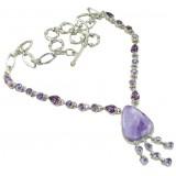 Brooklyn Sterling Silver Gemstone  Necklace