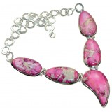 Amaya Sterling Silver Gemstone  Necklace