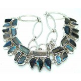 Mattie Sterling Silver Labradorite Necklace