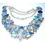 Megan Sterling Silver Moonstone  Necklace
