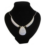 Gem Lavender Jade Necklace