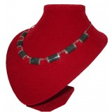 Halais Green Traditional Jade Necklace