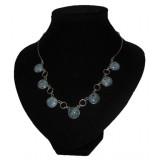 Reina Deep Blue Jade Necklace
