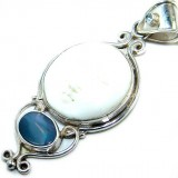Alanna Sterling Silver Gemstone  Pendant