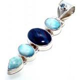 Madisyn Sterling Silver Opal  Pendant