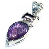 Cameron Sterling Silver Amethyst  Pendant