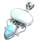 Amethyst Silver Pendant