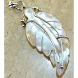 Holly Sterling Silver Coral  Pendant