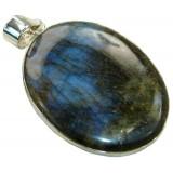 Rhodochrosite Silver Pendant