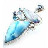 Sophie Sterling Silver Gemstone  Pendant