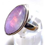Nancy Sterling Silver Moonstone  Ring