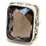 Quartz Silver Ring