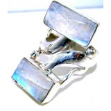 Farrah Sterling Silver Moonstone  Ring
