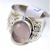 Jaylah Sterling Silver Quartz  Ring